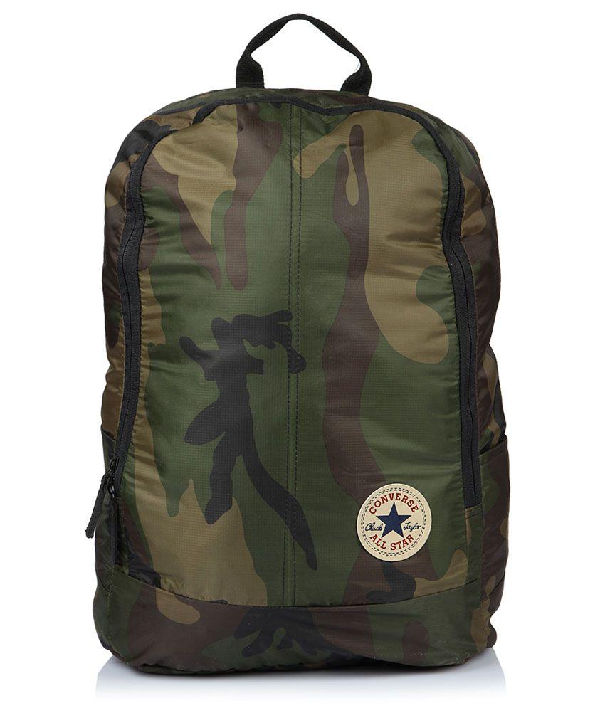 620b1a0f4fa Converse 14.1 Inches Military Green Camoflauge Laptop Backpack - Buy  Converse 14.1 Inches Military Green Camoflauge Laptop Backpack Online at  Low Price - ...