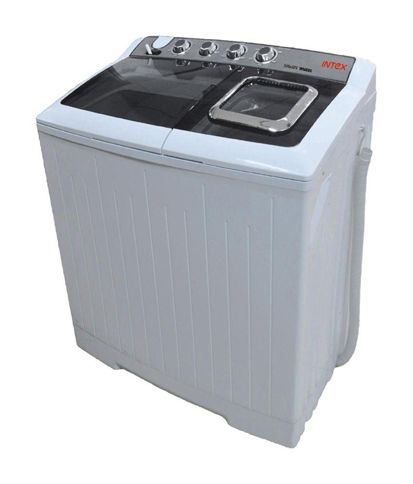 INTEX WMS80 8KG Semi Automatic Top Load Washing Machine