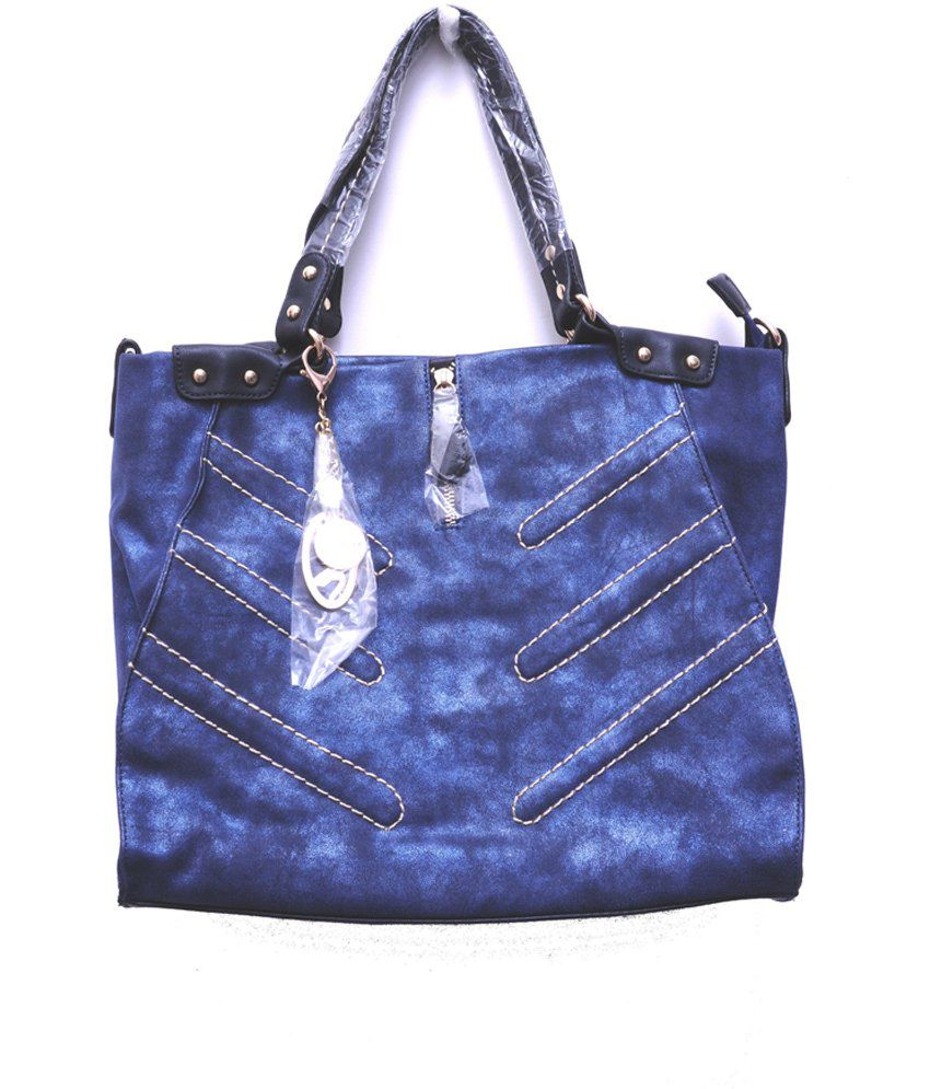 Monett Blue P.u. Women's Shoulder Bags