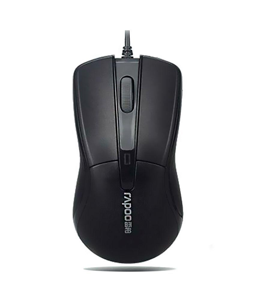 Rapoo N1162 Usb Mouseblack