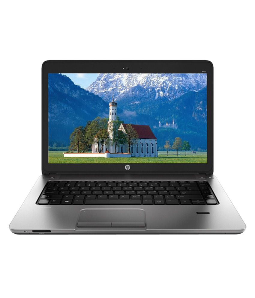 HP Pro Book 440G2 (J8T89PT) Laptop (4th Gen Intel Core i5- 4GB RAM- 500GB HDD- 35.56cm (14)- DOS) (Black)