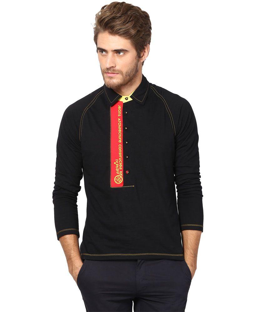 Ivpl@y T Shirt Black