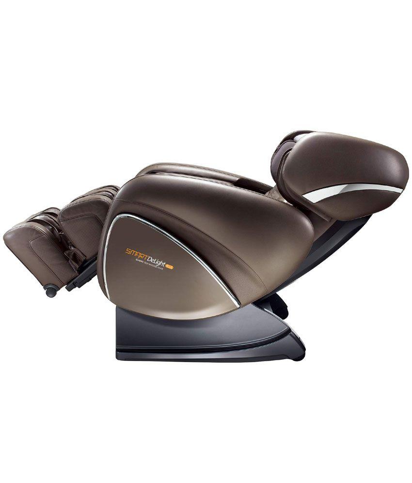 OGAWA Smart Delight Plus Quadro Tech Massage Chair Dark