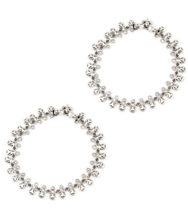925silver Astound Contemporary Anklet