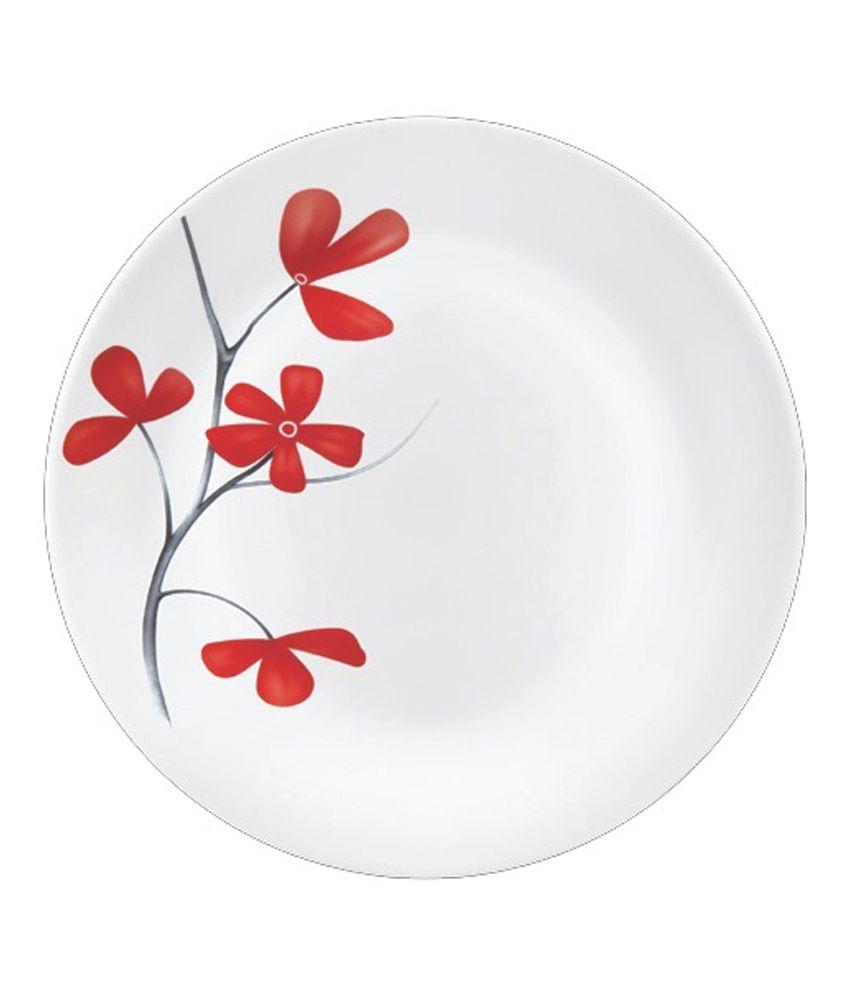 La Opala 27 Pcs Diva Cherry Petal Dinner Set