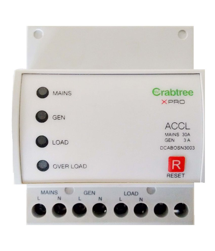 Buy Havells Crabtree Xpro Spn Accl 6a  30a Online At Low