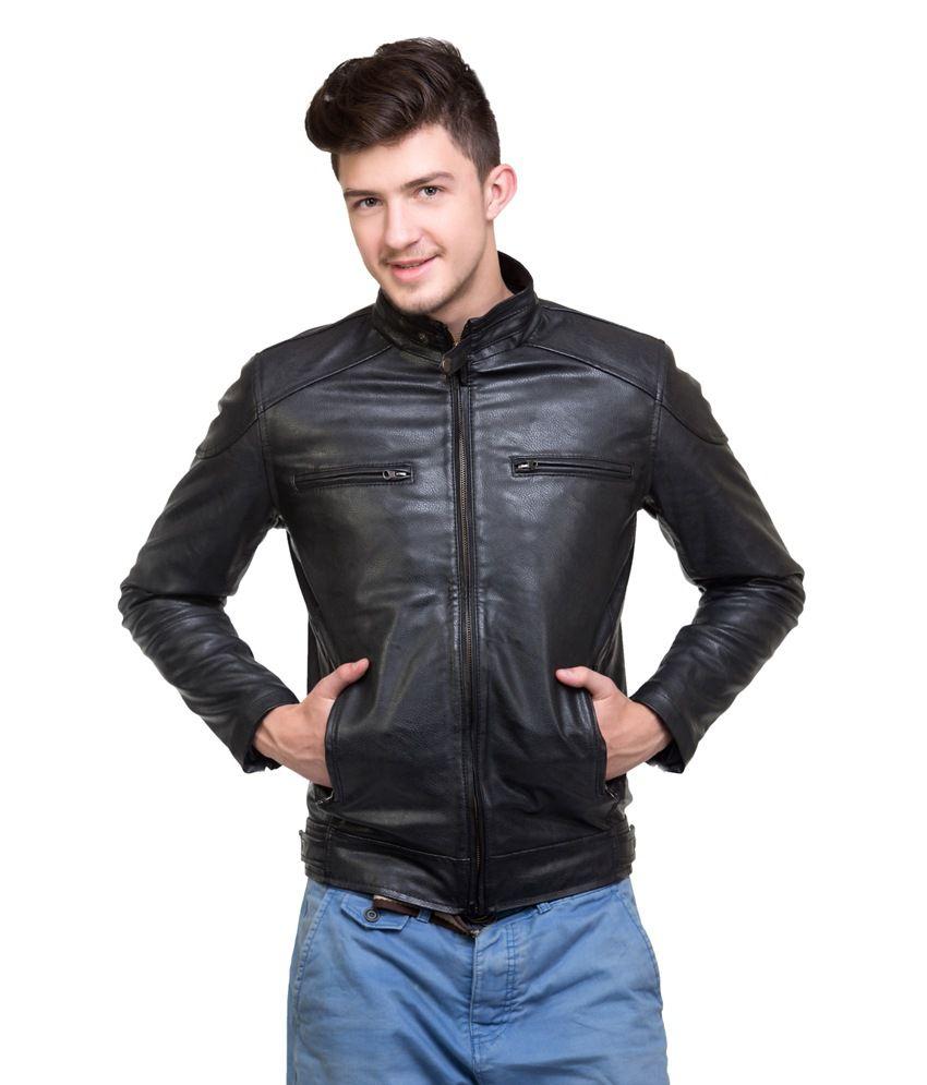 Mens jacket on flipkart - Lambency Stylish Ride Black Wind Proof Men Jacket