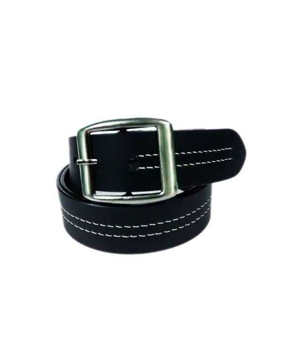 Deri Modish Design Casual Black Belt