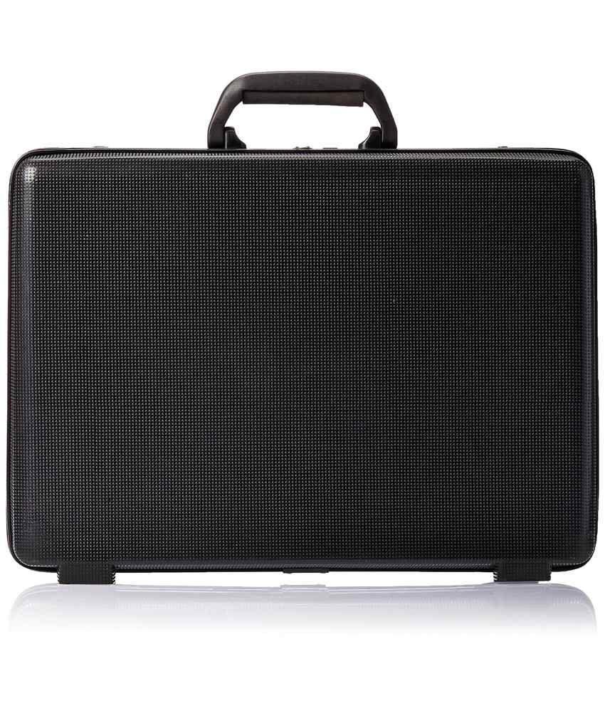 Safari Arrow Ct 4 Black Office Briefcase