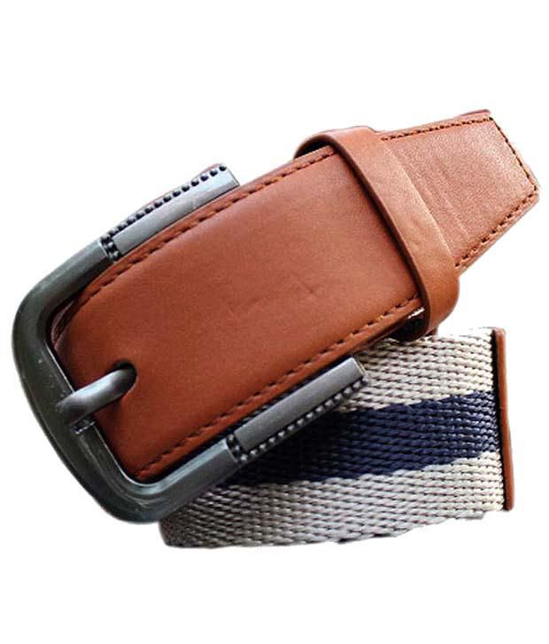 Winsomedeal Trendy Brown Casual Belt