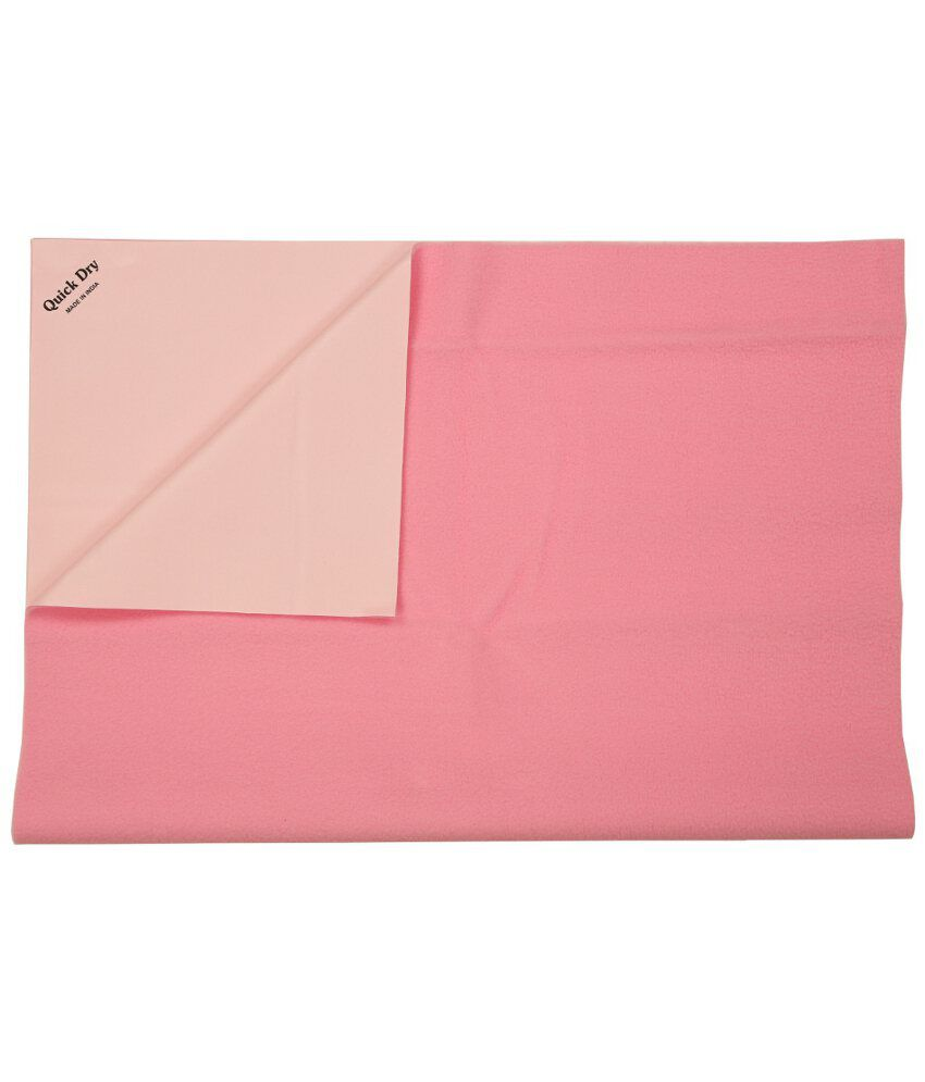 Quick Dry Quick Dry Plain Waterproof sheet Large Pink