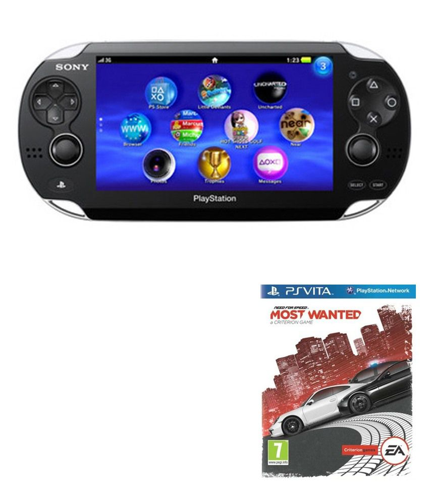 Sony PS Vita + Need For Speed Most Wanted