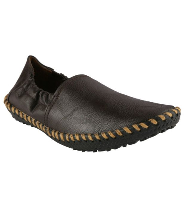 Wave Walk Brown Loafers