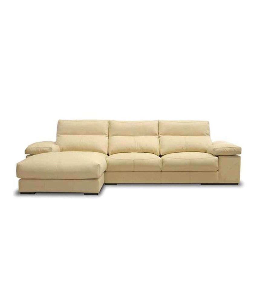 Hamilton Furnitech Beige Natural Finish Sofa Set Buy
