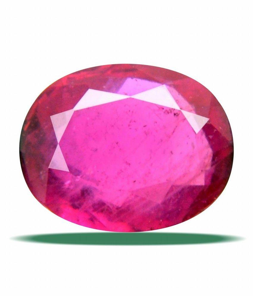 Anmol ratna niwiar0669 Pinkish Red Oval Ruby Manik 9 9 5