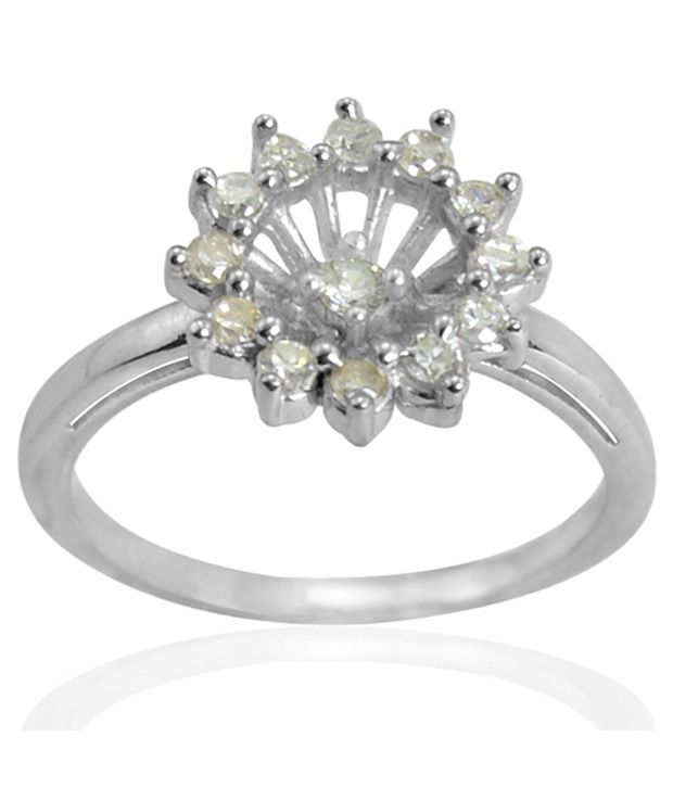 Arsh Crown Sky Dominion 0.26 CTW Cubic Zirconia 925 Sterling Silver Ring