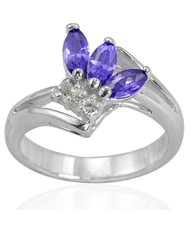 Arsh Crown Sky Dominion 1.22 CTW Cubic Zirconia 925 Sterling Silver Ring