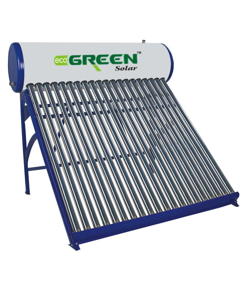 Eco green solar 150 lpd solar water heater price in india buy eco green solar 150 lpd solar water heater sciox Images