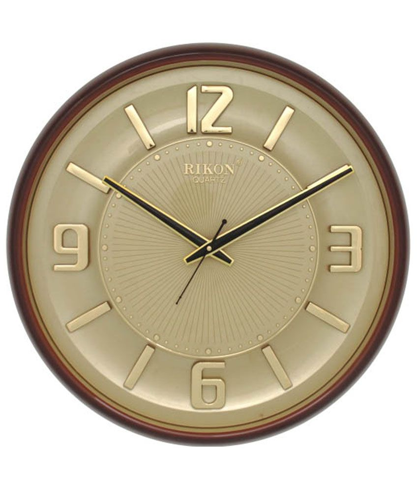 Rikon quartz wall clock buy rikon quartz wall clock at best price rikon quartz wall clock amipublicfo Choice Image