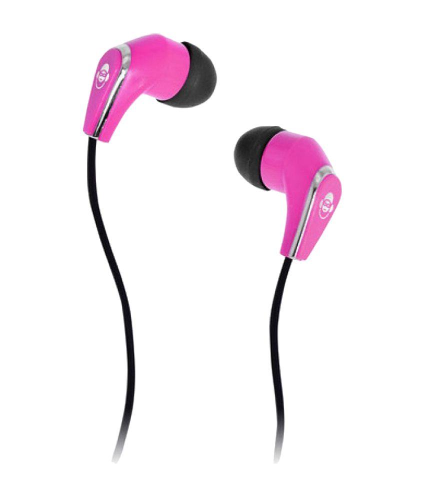 iDance SLAM 20 PK In the Ear Headphone - Pink