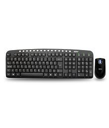 Zebronics JUDWAA560 USB Keyboard and Mouse Combo With Wire