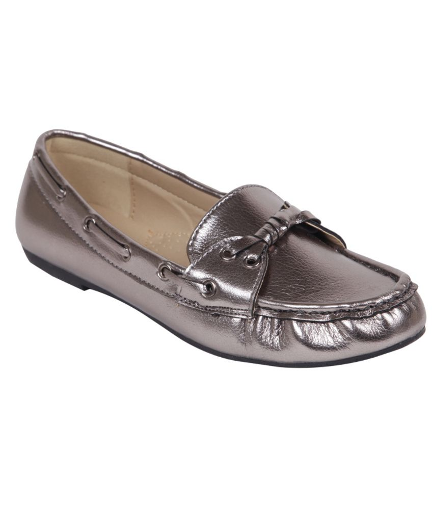 Buy Silver Shoes Online India