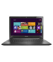 Lenovo G50-30 Notebook (Intel Celeron /2GB/500GB/39.62cm (15.6)/WIN8.1 SL) (Black )(80G001NSIN)