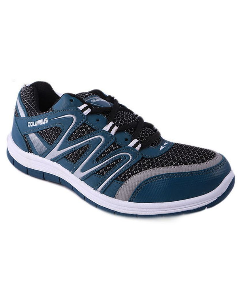 Columbus Blue Sport Shoes