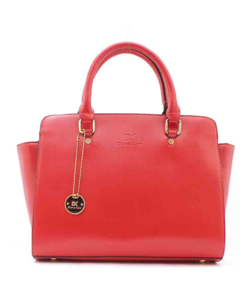 Diana Korr Red Claire Women's Shoulder Bag