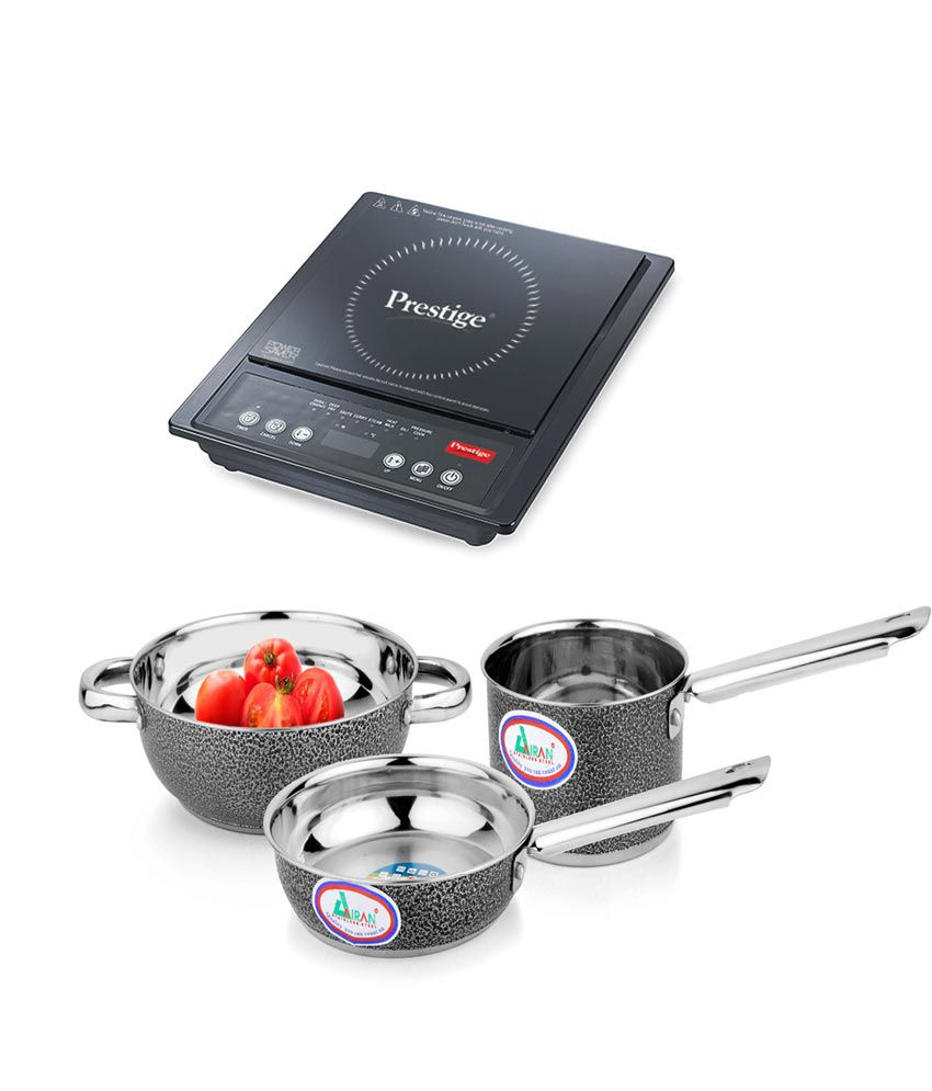 Prestige PIC 12.0 Induction Cook-top and Induction Base Color ...