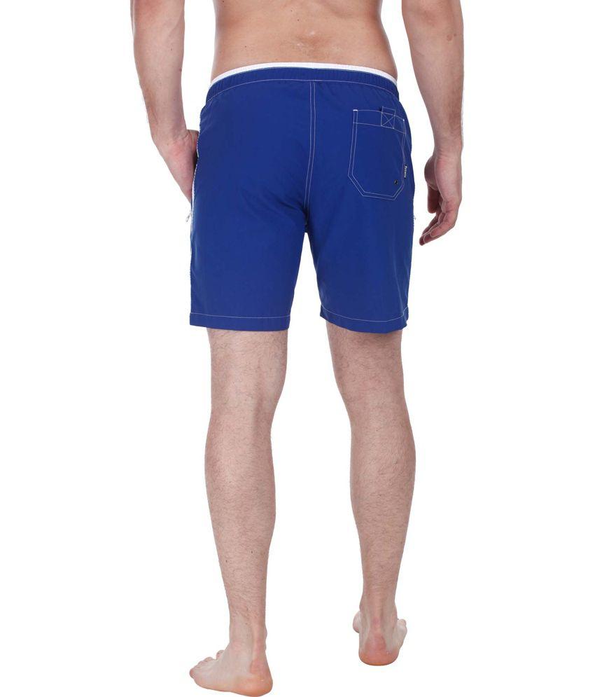 26dc57ad530c0 ... Zobello Nylon Quick Dry Swim Shorts With Zipper Pockets/ Swimming  Costume ...