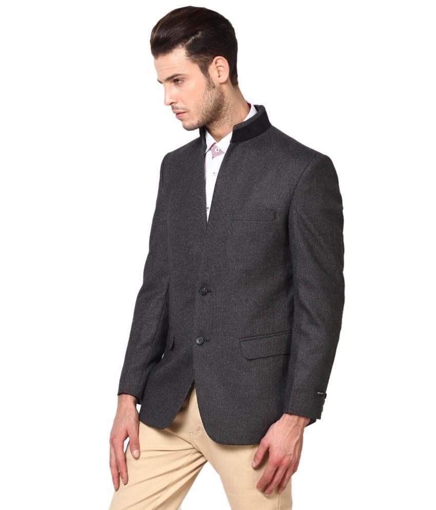 31b758d54ca Black Semi-formal Blazer - Buy Black Semi-formal Blazer Online at ...