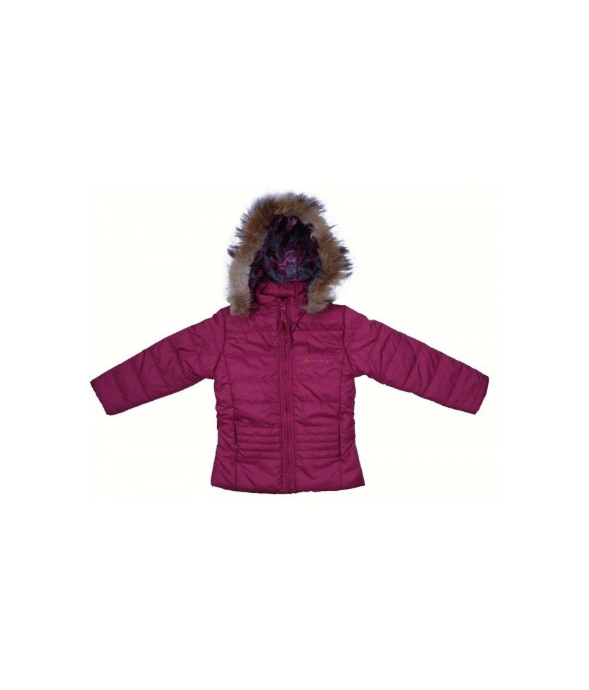 Woollen Wear Full Sleeves Maroon Color Jacket For Kids