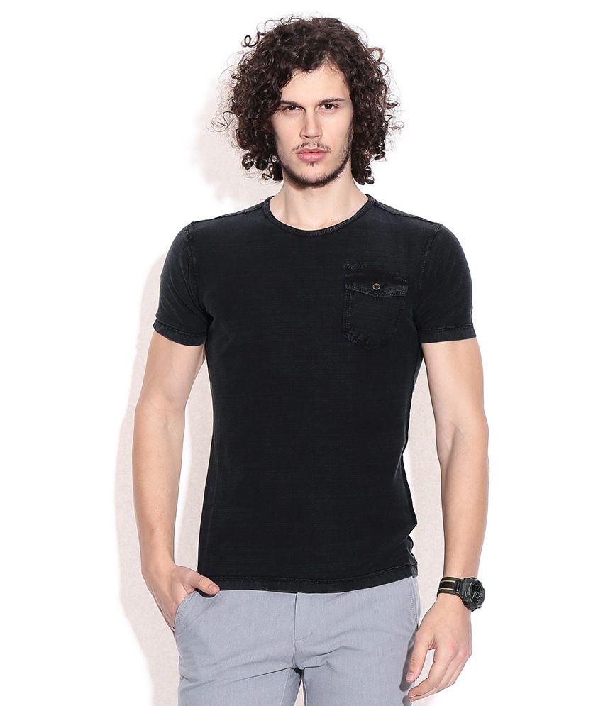 Mossimo Black Cotton T-shirt