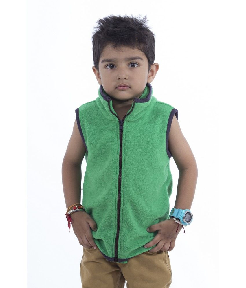 Nino Bambino Sleeveless Sweatshirt With Full Zipper