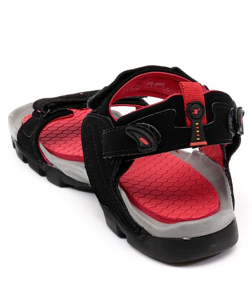 Sparx Black Floater Sandals Buy Sparx Black Floater