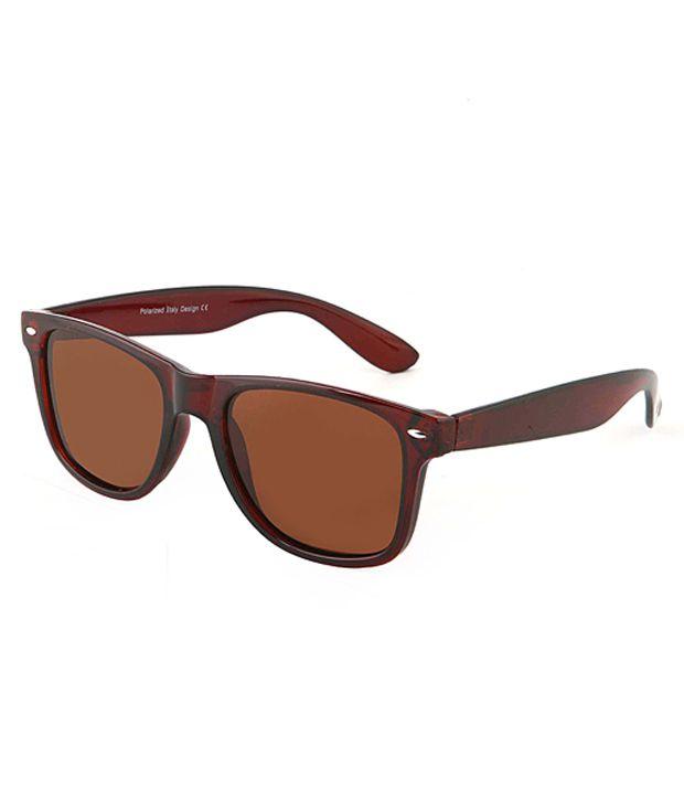 Egizmos Brown Wayfarer Sunglasses Sg30