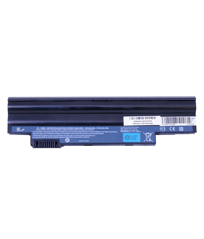 4d Acer Aspire D260-2365 6 Cell Laptop Battery