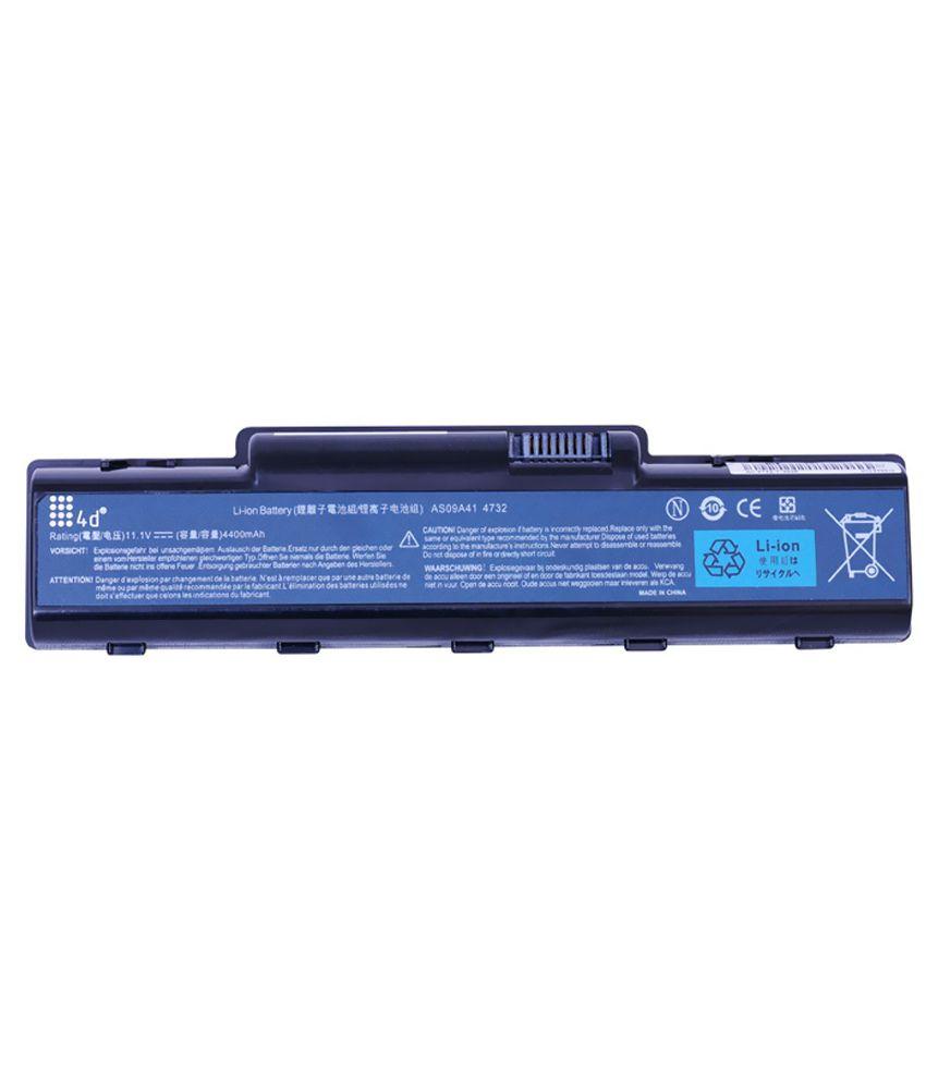 4d Acer Aspire Nv5465u 6 Cell Laptop Battery