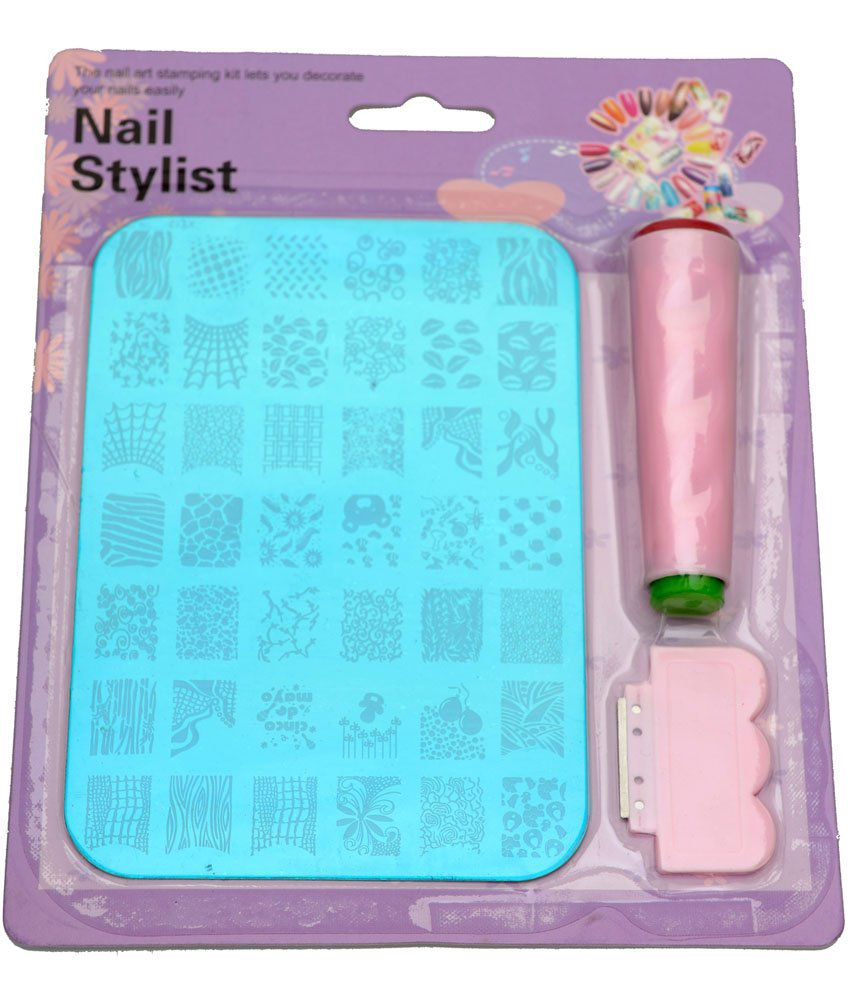 Imported Nail Art Stamping Kit Image Plate XY12: Buy