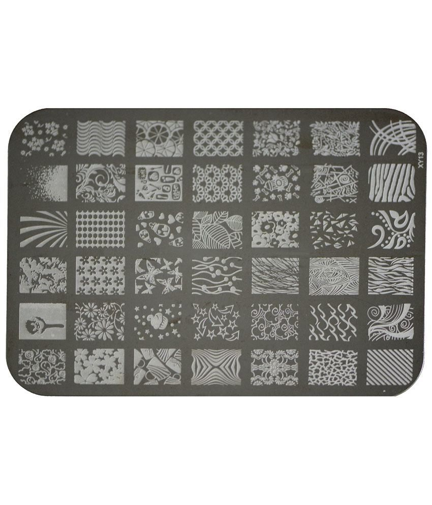 Imported Nail Art Stamping Kit Image Plate Xy13: Buy Imported Nail ...