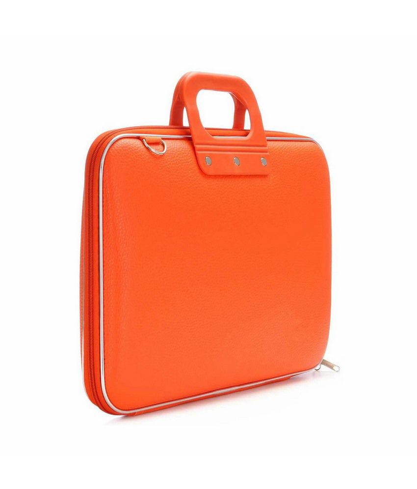 Tootpado Stylish Slim Orange Tablet Briefcase For  Apple iPad Notebook