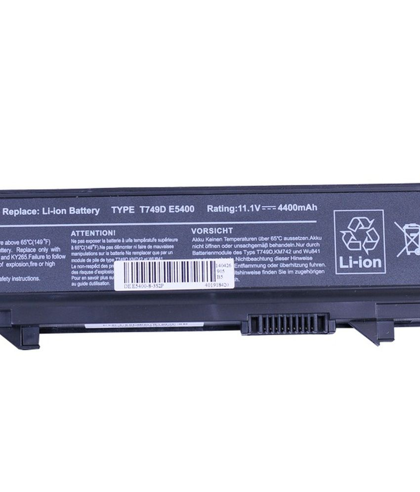 4d Dell Latitude Rm656 6 Cell Laptop Battery