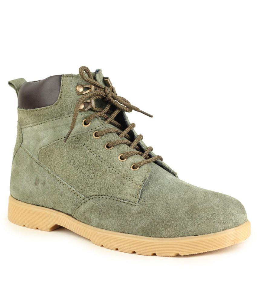 Adreno Green Boots
