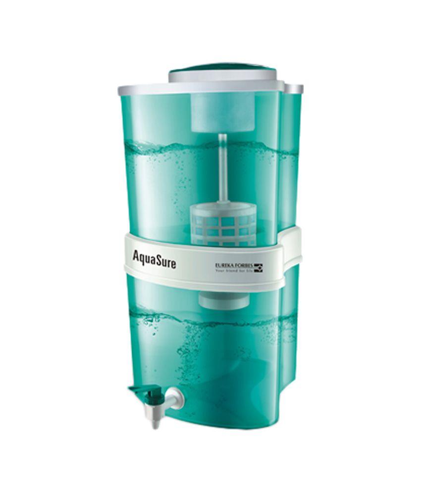 Eureka Forbes 15 Liters Aquasure Shakti Water Purifiers