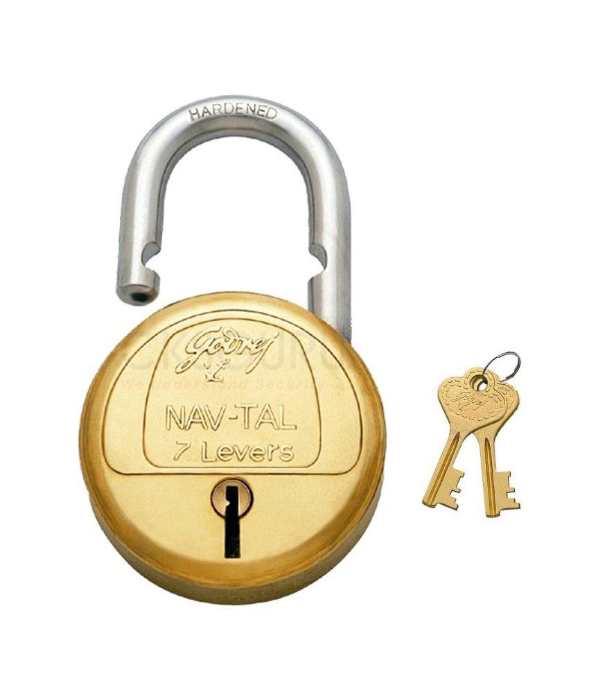 Buy Godrej 3291 Navtal 7 Lever Lock Online At Low Price In