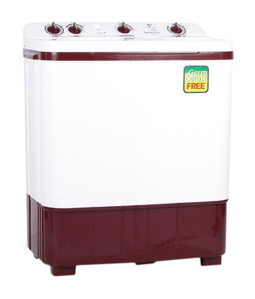 Videocon 6 Kg Typhoon Plus WM VS60B11-DMU Semi Automatic Top Load Washing Machine Dark Maroon