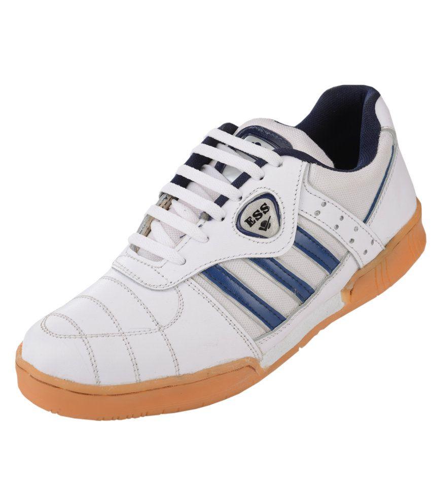 ESS Badminton White Sport Shoes