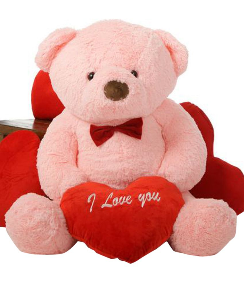 Grabadeal big pink teddy bear with red i love you heart 61 cm buy grabadeal big pink teddy bear with red i love you heart 61 cm altavistaventures Images