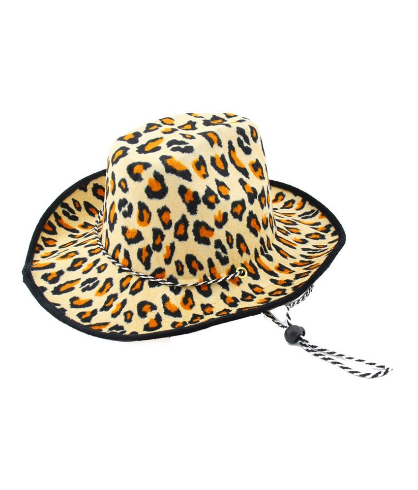 Jstarmart Multicolor Cheeta Hat